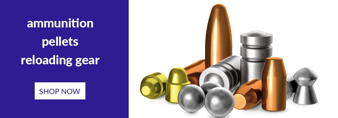 Pellets, Ammuntition & Reloading