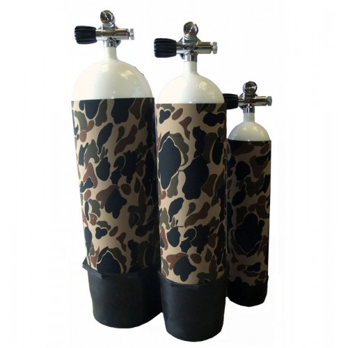 Hydrotech Camo Cylinder Cover - 4 LTR
